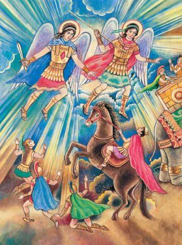 ΟΙ ΜΕΘΥΣΜΕΝΟΙ ΕΛΕΦΑΝΤΕΣ καί Η ΠΡΟΣΤΑΓΗ ΤΟΥ ΘΕΟΥ