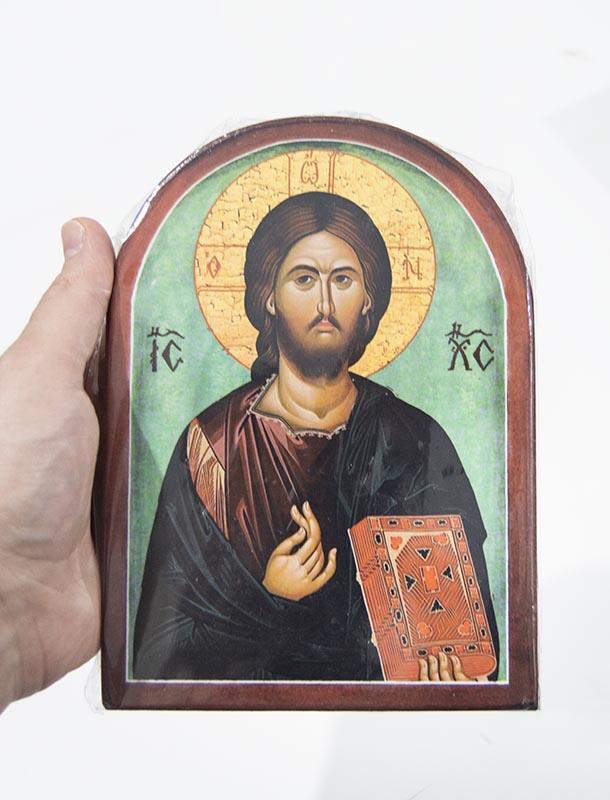 Εκκλησιαστικά Είδη ΞΥΛΙΝΕΣ ΕΙΚΟΝΕΣ ΜΕ ΚΑΜΠΥΛΗ ΜΕΓΑΛΕΣ (81-220)